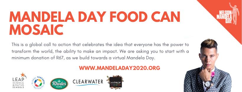 Mandela Day 2020 Social Media Banner